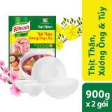 Hạt Nem Knorr Thịt Thăn Xương Ống Tuỷ 900G X2 Goi Tặng 01 Bộ To Chen Dĩa Sứ Knorr Rẻ Trong Vietnam