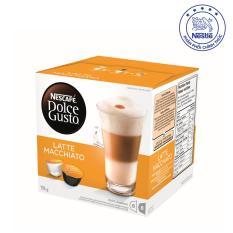 Giá Bán Hộp 16 Vien Nen Ca Phe Sữa Nescafe Dolce Gusto Latte Macchiato 194G Nescafe
