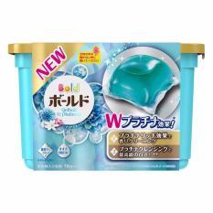 Bán Mua Hộp 18 Vien Nước Gel Ball Xanh Giặt Va Xả Quần Ao Hương Hoa Nhật Bản