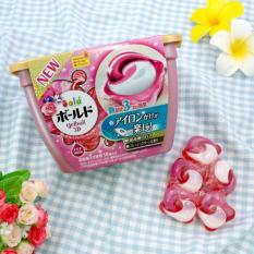 Hộp 18 viên Nước giặt hương ngàn hoa 3D  (4 trong 1) - Nhật Bản