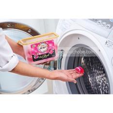 Hộp 18 viên nước giặt xả Gel Ball hương hoa - sản xuất tại Nhật Bản