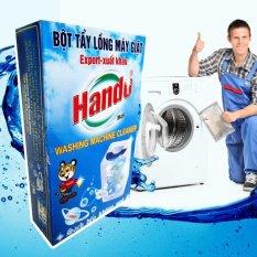 Hộp 2 Gói Tẩy Lồng Máy Giặt Hando Cho Máy Cửa Trước Và Cửa Sau Siêu Sạch GD11 Khuyến Mại Hot