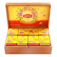 Giá Bán Hộp Qua Gỗ Tra Tui Lọc Lipton Dream Gift 2017 Mới Nhất