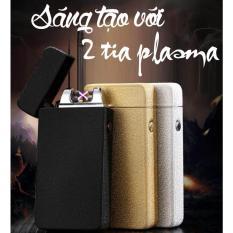 Bán Hộp Quẹt Bật Lửa Zippo 2 Tia Plasma Vang Kim Rẻ Trong Hồ Chí Minh