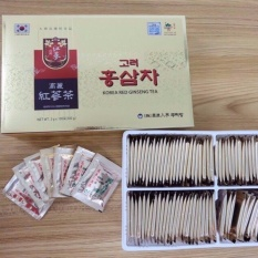 Hộp Tra Hồng Sam Xuất Xứ Han Quốc 100 Goi X 3G Hàn Quốc Rẻ Trong Bà Rịa Vũng Tàu