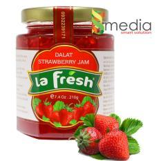 Hình ảnh Hũ Mứt Dâu Tây La Fresh 210g - Strawberry Jam