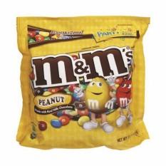 Set 3 gói kẹo Chocolate M&Ms đậu phộng gói 40gr
