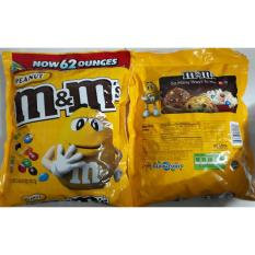 Kẹo chocolate nhân đậu phộng M&M 1757g