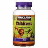 Bán Kẹo Dẻo Bổ Sung Vitamin Cho Trẻ Em Kirkland Signature Children S Complete Multivitamin Gummies 160 Vien Có Thương Hiệu Nguyên