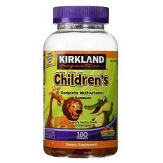 Hình ảnh Kẹo dẻo bổ sung Vitamin cho trẻ em – Kirkland Signature Children's Complete Multivitamin 160 viên