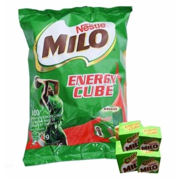 Kẹo MILO CUBE 275g - 100 viên