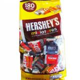 Mua Kẹo Socola Hershey S Miniatures 180 Pieces 1 58Kg Usa Goi Rẻ
