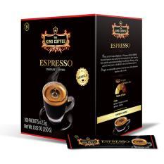 Ôn Tập King Coffee Ca Phe Hoa Tan Espresso Hộp 100 Sticks