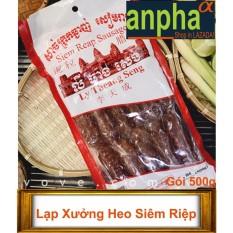 Bán Mua Lạp Xưởng Heo Siem Riệp 500G Trong Việt Nam