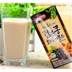 Ôn Tập Trên Lốc 10 Hộp 190Ml Sữa Oc Cho Đậu Đen Hạnh Nhan Han Quốc