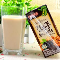 Lốc 24 hộp sữa Óc chó, Hạnh Nhân, Đậu Đen Hàn Quốc 190ml