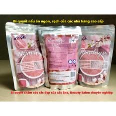 Hình ảnh Muối ăn Himalaya nhập khẩu (túi 1kg)- Bí quyết món ngon, sạch, an toàn