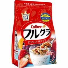 Ngũ cốc Calbee Nhật Bản 800g date mới nhất thị trường 12/2018