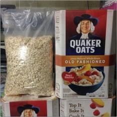 Bán Nửa Thung Yến Mạch Quaker Oats Dạng Can Mỏng Old Fashioned 2 26Kg Rẻ