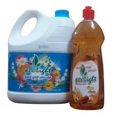 Giá Bán Nước Giặt Đậm Đặc Ecolight 3 6L Tốt Nhất