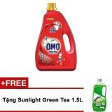 Giá Bán Nước Giặt May Omo Matic Cửa Tren 4 2Kg Tặng Nước Rửa Chen Sunlight Green Tea 1 5L Trong Hồ Chí Minh