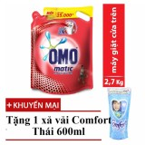 Bán Nước Giặt Omo Mactic Cửa Tren 2 7 Kg Tặng Xả Vải Comfort Thai 600Ml Omo Trực Tuyến