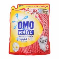 Nước Giặt Omo Matic Tinh Dầu Thơm Comfort Cho May Giặt Cửa Tren Tui 2 4Kg Omo Rẻ Trong Hà Nội