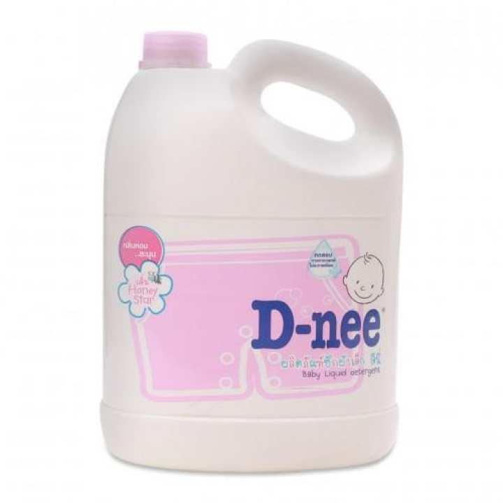 Nước giặt quần áo cho bé Honey Star D-nee 3000ml