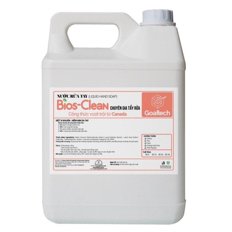 Nước Rửa Tay BIOS hương Dâu 5 Kg
