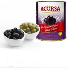 Olives Đen Khong Hạt Acorsa Medium Pitted Black Olives 3 Kg Hồ Chí Minh Chiết Khấu 50