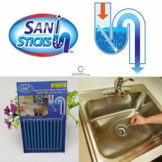 Hình ảnh Que thông tắc cống, bồn cầu, bồn rửa mặt Sani Sticks
