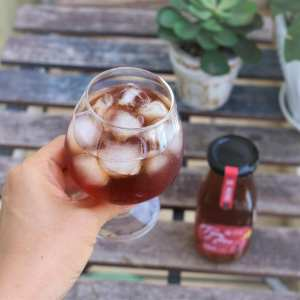 Hình ảnh Grape Cider Tám Hiền Phan Rang 02 chai 330ml - The Kaffeine