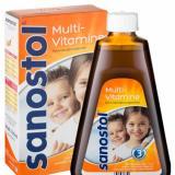 Siro Vitamin Tống Hợp Sanostol 3 Cho Be Từ 3 6 Tuổi 230Ml Nguyên