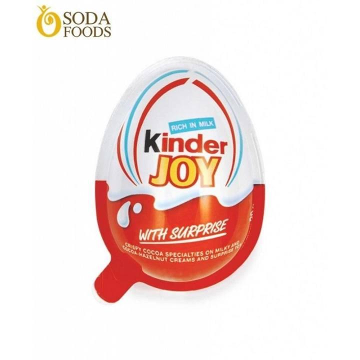Sô Cô La Quả Trứng Đồ Chơi Kinder Joy – Boys – 460K/Thùng