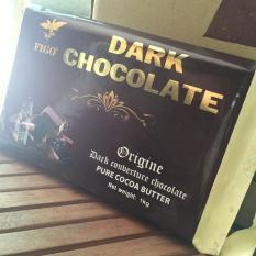 Ôn Tập Nguyen Liệu Socola Đen Lam Banh 65 Cacao Figo 1Kg Chocolate Figo Trong Việt Nam