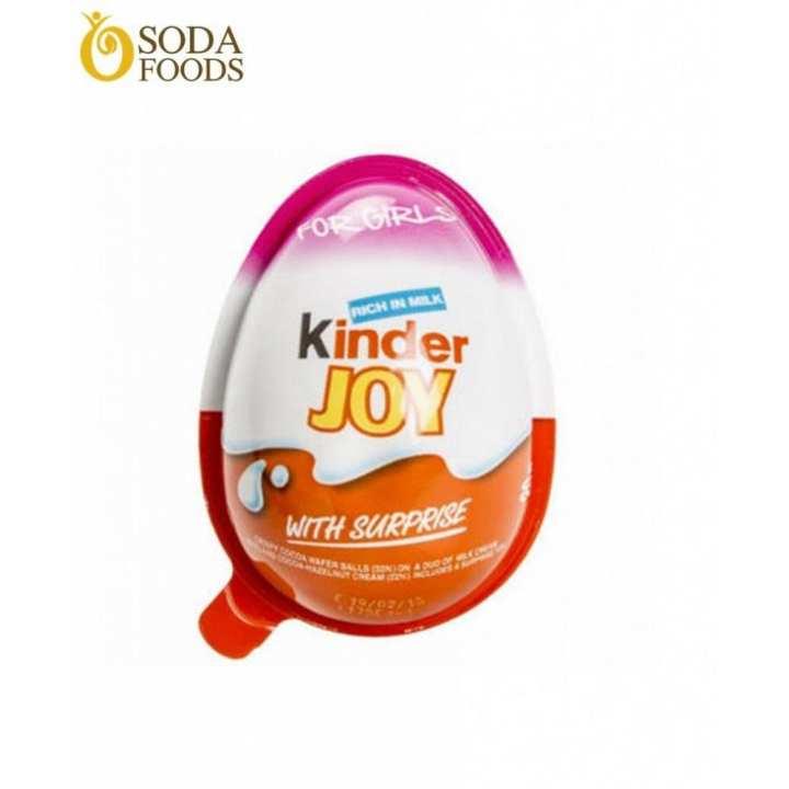 Sôcôla Hình Quả Trứng Kinder Joy Cho Bé Gái – 460K/Thùng