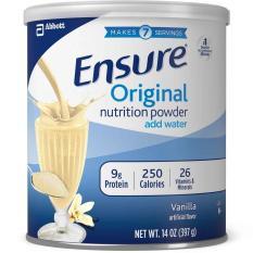 Sữa bột Ensure Mỹ Original Nutrition Powder 397g