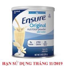 Giá Bán Sữa Bột Ensure Original Nutrition Powder 397G Mỹ Nhãn Hiệu Abbott