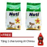 Chiết Khấu Sữa Bột Nguyen Kem Nutifood 400G X 2 Gói Tặng 1 Chai Tương Ớt Chinsu Nutifood Trong Hồ Chí Minh