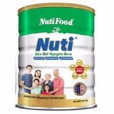 Bán Mua Sữa Bột Nutifood Nuti Nguyen Kem Lon 900G