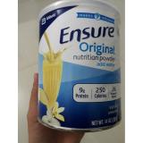 Chiết Khấu Sữa Bột Phục Hồi Sức Cho Người Gia Người Bệnh Người Biếng Ăn Ensure Original Nutrition 397Gr