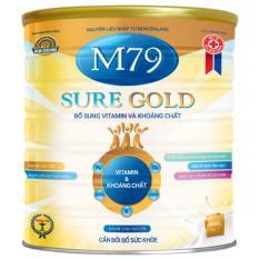 Giá Bán Sữa Bột Phục Hồi Sức Cho Người Gia Người Gầy Ốm Người Bệnh Sure Gold Hộp 900G M79