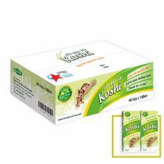 Giá Bán Sữa Gạo Lứt Koshi Nguyen Cam 180Ml Thung 48 Hộp Nhãn Hiệu Koshi
