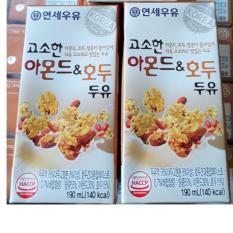 Bán Sữa Hạnh Nhan Oc Cho Đậu Đen 24 Hộp Yonsei Vegemil Người Bán Sỉ