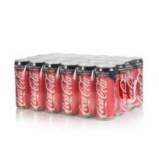 Hình ảnh Nước giải khát có ga Coca-Cola Zero không đường thùng 24 lon 330ml