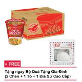 Thung 24 Ly Mi Cup Noodles Hương Vị Thái Tom Yum 70Gr Tặng Bộ Qua Tết Gia Đinh Cao Cấp Mới Nhất
