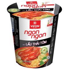 Mua 1 Thung Tặng 1 Thung 24 Ly Mi Ngon Ngon Lẩu Thai Tom 60G Vifon Vifon Chiết Khấu 40