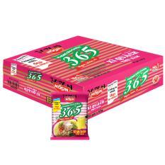 Thùng 30 Gói Mì Không Chiên 365 - Hương Vị Xí Quách Thịt Bằm (63gr)