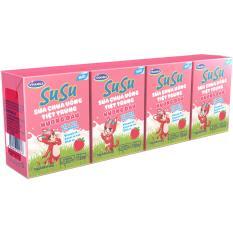 Mua Thung 48 Hộp Sữa Chua Uống Susu Hương Dau 110Ml