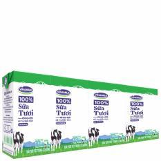 Ôn Tập Thung 48 Hộp Sữa Tươi Tiệt Trung Vinamilk 100 Co Đường 110Ml